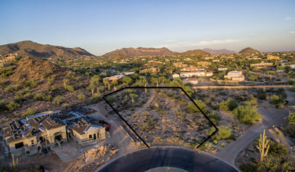 Las Sendas Custom lot for sale